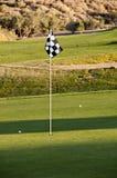 Препятствуйте нам сыграть гольф Стоковые Фото