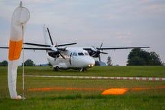 Препятствуйте L-410 Turbolet Стоковые Фото