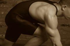 препятствуйте wrestle s Стоковая Фотография