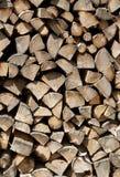 Прерванная деревянная предпосылка Стоковая Фотография