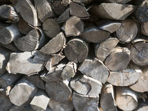 прерванная древесина пожара Стоковое фото RF