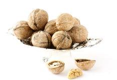 прерванные грецкие орехи все стоковые изображения rf