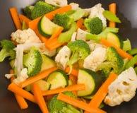 прерванные сырцовые овощи Стоковая Фотография RF