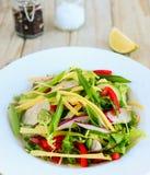Прерванный тайский салат Стоковое фото RF