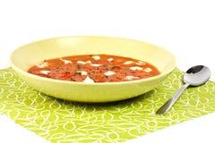 прерванный томат soop петрушки Стоковое фото RF