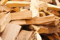 прервано вниз с древесины стоковая фотография rf
