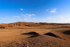 прерия ландшафта осени Стоковые Изображения RF