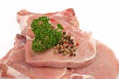 прерывает свинину петрушки Стоковое Изображение RF