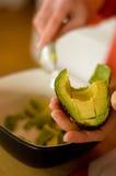 прерывать авокадоа Стоковое Фото