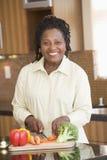 прерывать женщину овощей Стоковое Фото