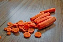 прерывать морковей Стоковое фото RF