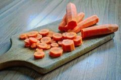 прерывать морковей Стоковая Фотография