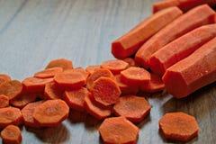 прерывать морковей Стоковое Изображение RF