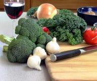 прерывать овощи Стоковая Фотография RF