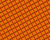 Прессованная абстрактная картина красного цвета, оранжевых и зеленых блоков иллюстрация вектора