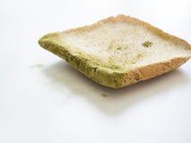 Прессформа на изолированном хлебе стоковая фотография rf
