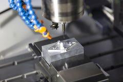 Прессформа подвергая механической обработке разбивочного вырезывания CNC Стоковое Изображение