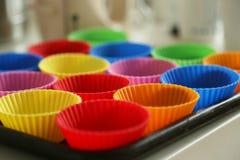 Прессформы торта Стоковое Фото