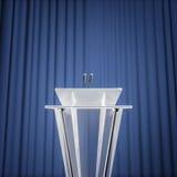 Пресс-конференция награды Стоковое Изображение RF