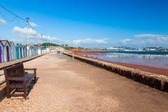 Престон зашкурит пляж Девон Англию Стоковая Фотография