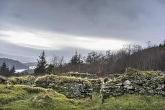 Преследовать остается посёлка Arichonan в Шотландии стоковые фотографии rf