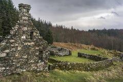 Преследовать остается посёлка Arichonan в Шотландии стоковые изображения