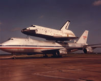 Претендент космического летательного аппарата многоразового использования, NASA, авиация Стоковое Изображение RF
