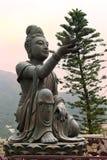 Предлагать Большой Шестерки Devas, монастыря Po Lin, Гонконга Стоковая Фотография RF