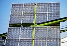 Предварительная панель солнечных батарей Стоковые Фотографии RF