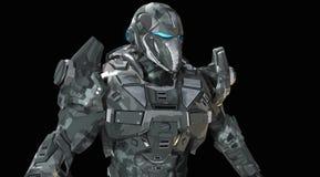 Предварительный супер воин Стоковое фото RF