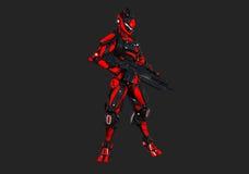 Предварительный супер воин Стоковые Фотографии RF