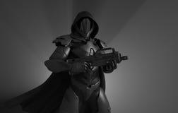 Предварительный супер солдат Стоковые Изображения