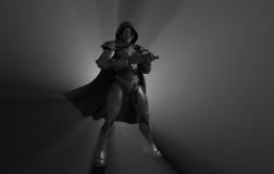 Предварительный супер солдат иллюстрация штока