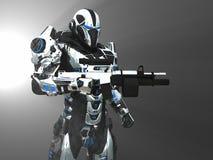 Предварительный супер солдат Стоковые Фотографии RF