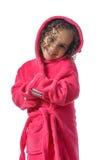 Прелестная девушка после ливня Стоковая Фотография RF