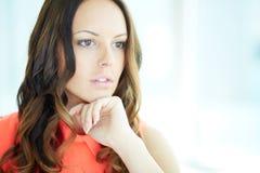 прелестная женщина Стоковая Фотография RF