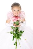 Прелестная маленькая девочка Стоковые Изображения RF
