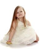 Прелестная маленькая принцесса стоковое фото