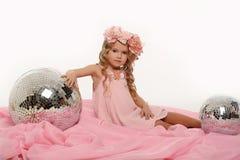 Прелестно маленькая девочка Стоковые Фотографии RF