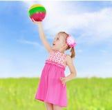 Прелестно маленькая девочка Стоковая Фотография