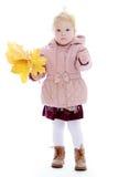 Прелестно маленькая девочка Стоковые Изображения
