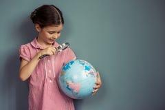 Прелестно маленькая девочка Стоковое фото RF