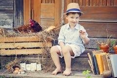 прелестный малыш Стоковые Фото