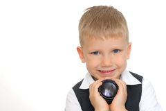 прелестный малыш Стоковая Фотография