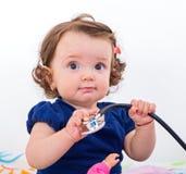 прелестный ребёнок Стоковая Фотография