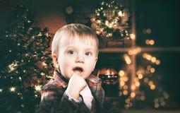Прелестный счастливый мальчик Стоковая Фотография