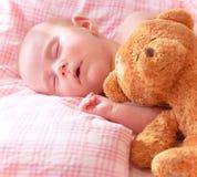Прелестный Newborn младенец Стоковые Изображения