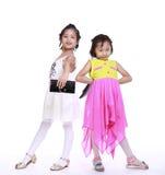 2 прелестных маленькой девочки Стоковое Изображение
