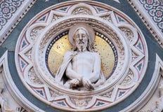 Предел Христоса, портал собора Флоренса Стоковое Изображение RF