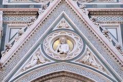 Предел Христоса, портал собора Флоренса Стоковое Изображение